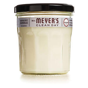 Mrs. Meyer's  Clean Day  Ivory  Lavender Scent Soy  Air Freshener Candle  3.8 in. H x 2.9 in. Dia. 7