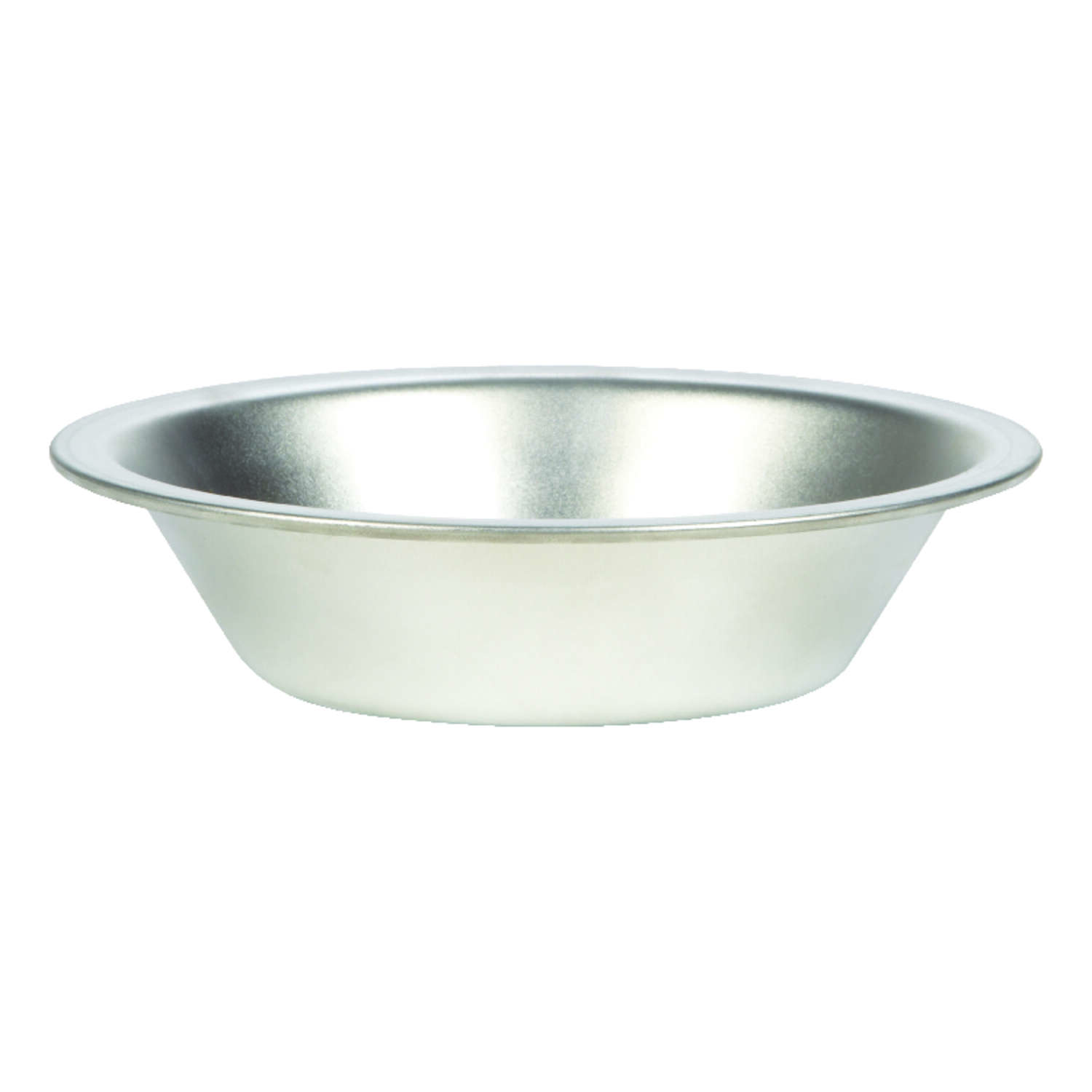 Fox Run  4-1/4 in. W 5 in. Individual Pie Pan  Silver