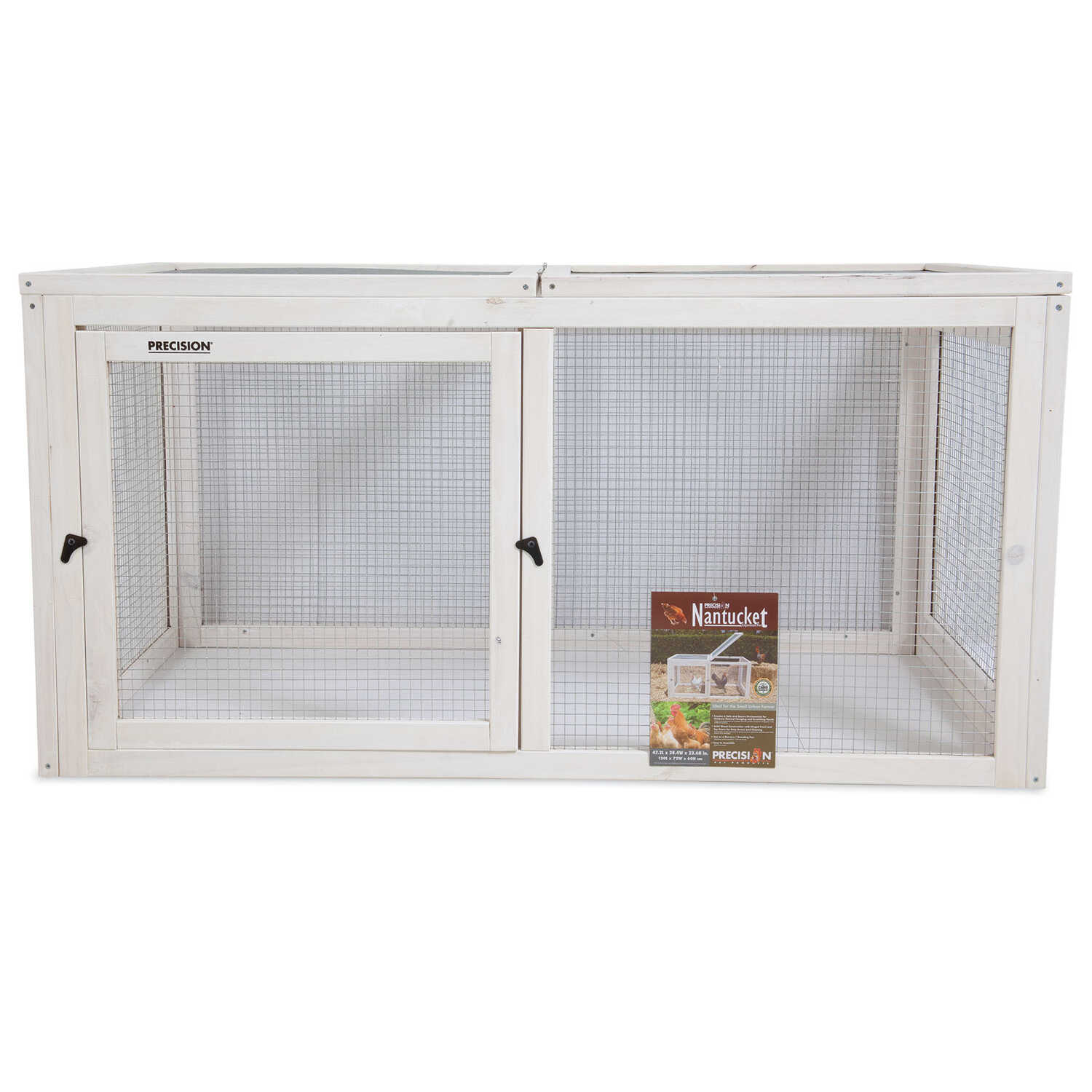 Precision Pet  2-3 Chickens  Firwood  Chicken Fort Run