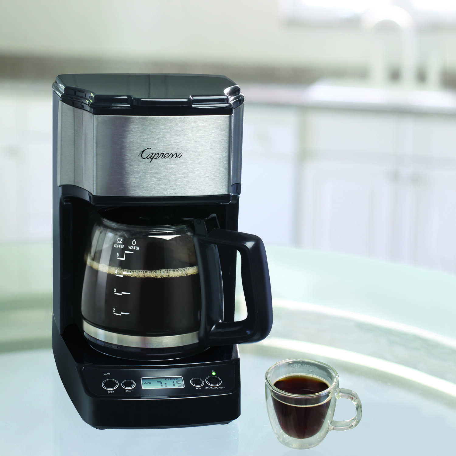 Capresso  5 cups Black  Coffee Maker
