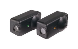 Chamberlain 1.25 in. W x 2.45 in. L Plastic Garage Safety Sensors
