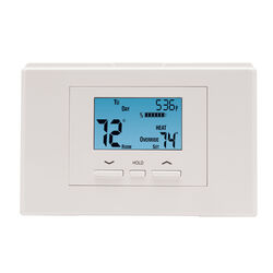 Ace  Heating and Cooling  Touch Screen  Programmable Thermostat