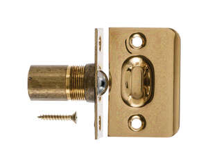 Ace  1 in. W x 2.1 in. D x 1 in. H Brass  Ball Catch  Brass
