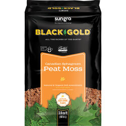Black Gold Organic Sphagnum Peat Moss 3.8 cu. ft.