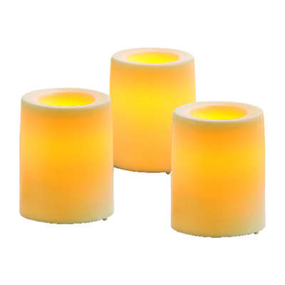 Inglow  Butter Cream  Votive  Candle  1.75 in. H
