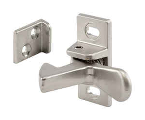 Prime-Line  1.3 in. H x 0.6 in. W x 0.9 in. D Satin Nickel  Steel  Elbow Catch