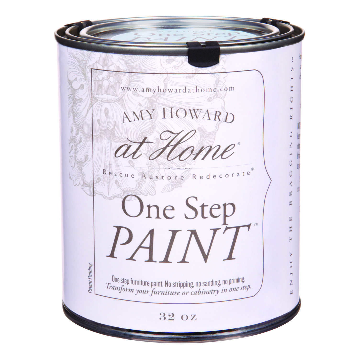 Amy Howard at Home  Flat Chalky Finish  Nottaway  Latex  One Step Paint  32 oz.