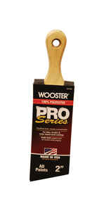 Wooster  Pro Series  2 in. W Angle  Polyester  Paint Brush