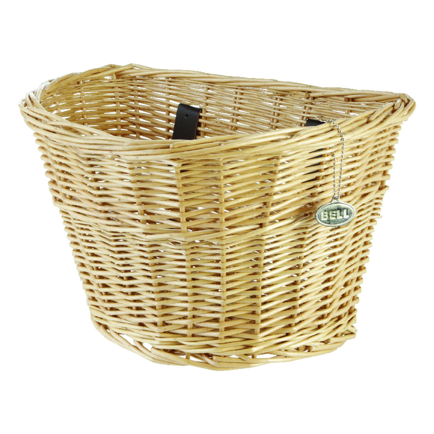 Bell Sports  Wicker  Bike Basket  Tan