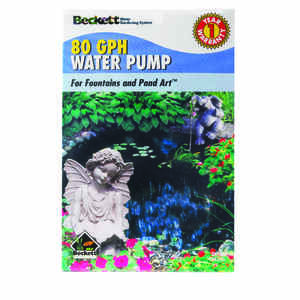 Beckett  0.006702413 hp Fountain Pump
