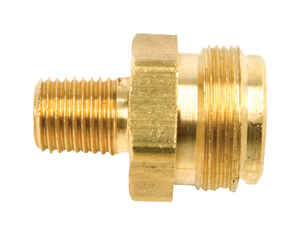 Mr. Heater  1/4 in. Dia. Brass  FPT x MPT  Cylinder Adapter