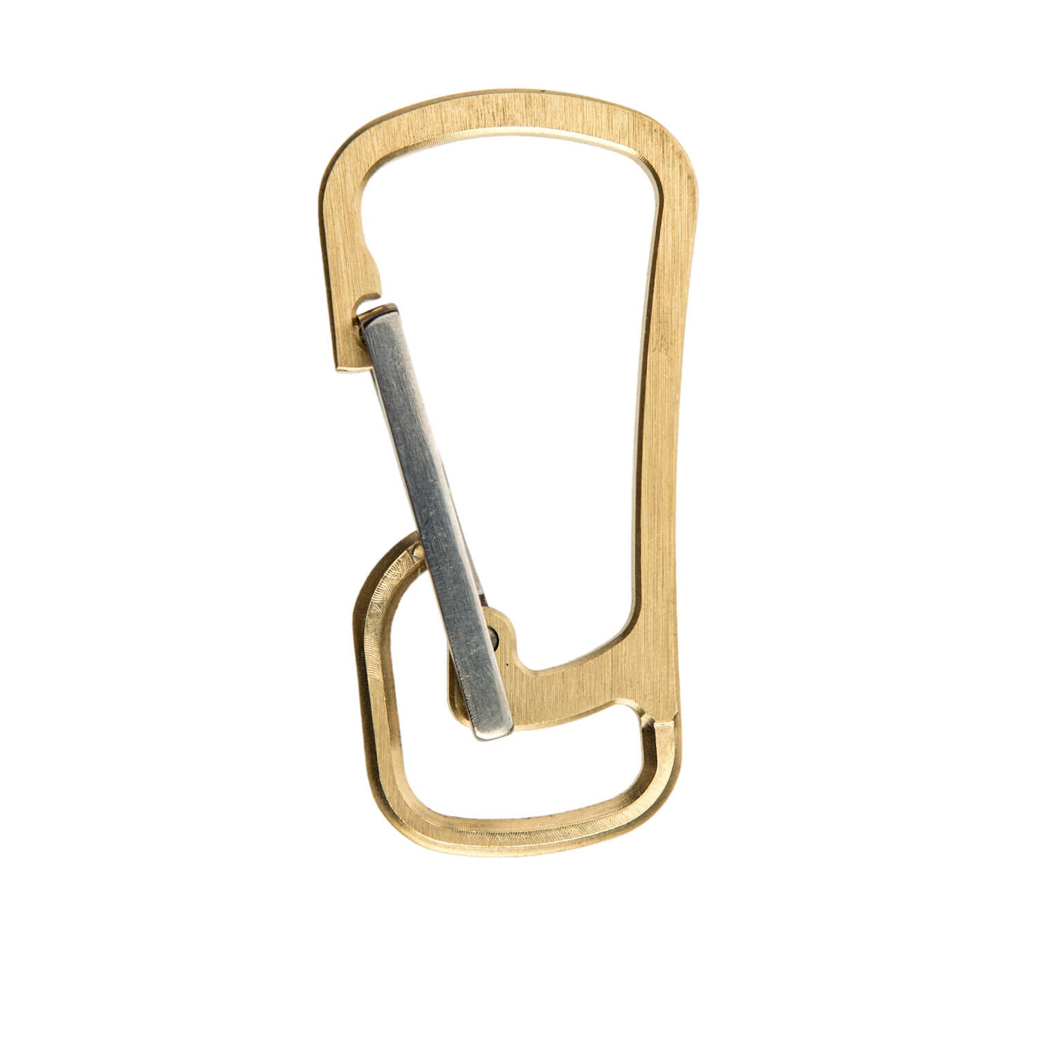 Klecker Knives  Stowaway Tools  Every day carry  Carabiner  Brass and Titanium  1 each