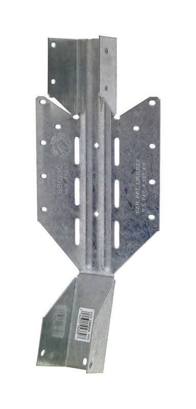 Simpson Strong-Tie  8.5 in. H x 1.56 in. W Galvanized Steel  18 Ga. Joist Hanger