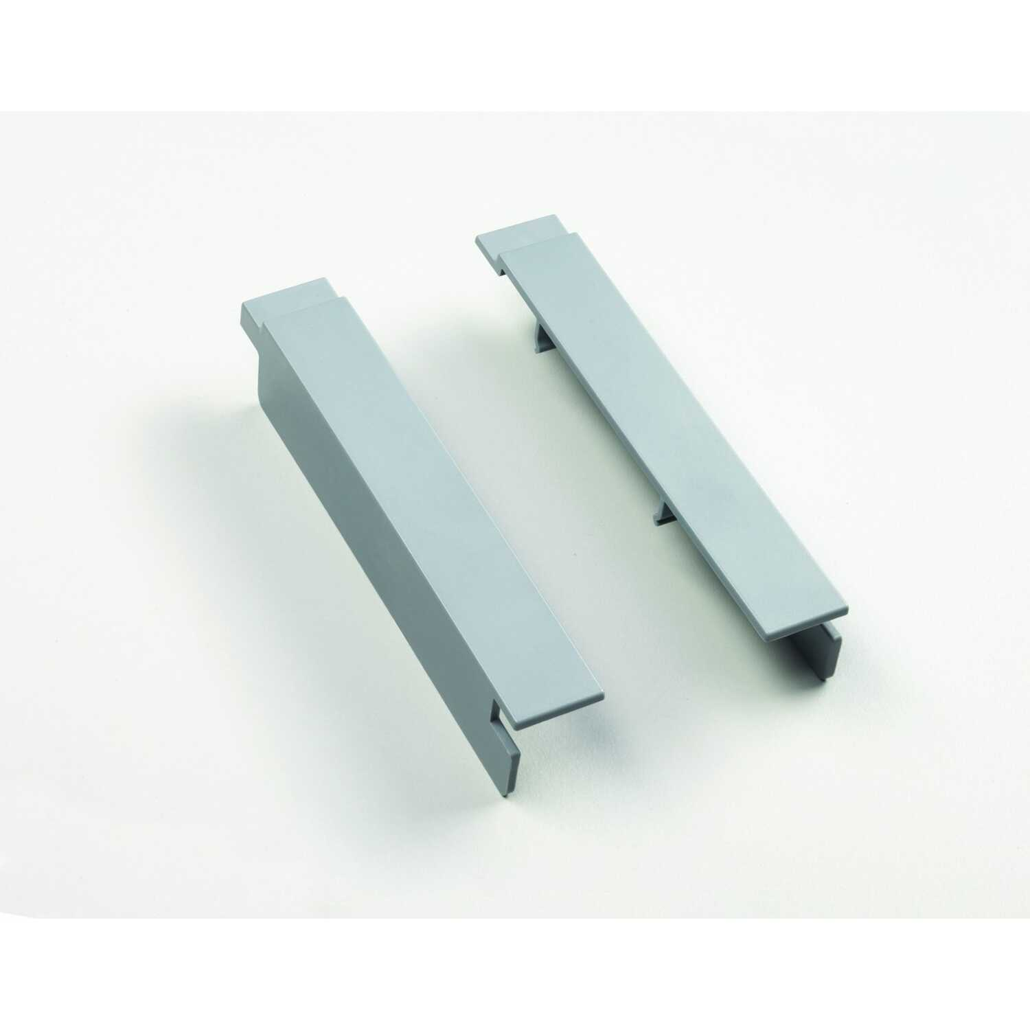 Craftsman  VersaTrack  1 in. W x 1 in. D x 5-1/2 in. H Plastic  Shelf Clips