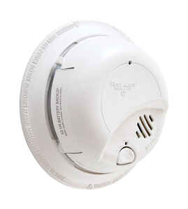First Alert  Hard-Wired with Battery Back-up  Ionization  Smoke Alarm