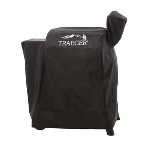 Traeger  Series 22  Black  Grill Cover  11.5 in. D x 10.25 in. H x 3 in. W For 22 Series, Lil Tex, R