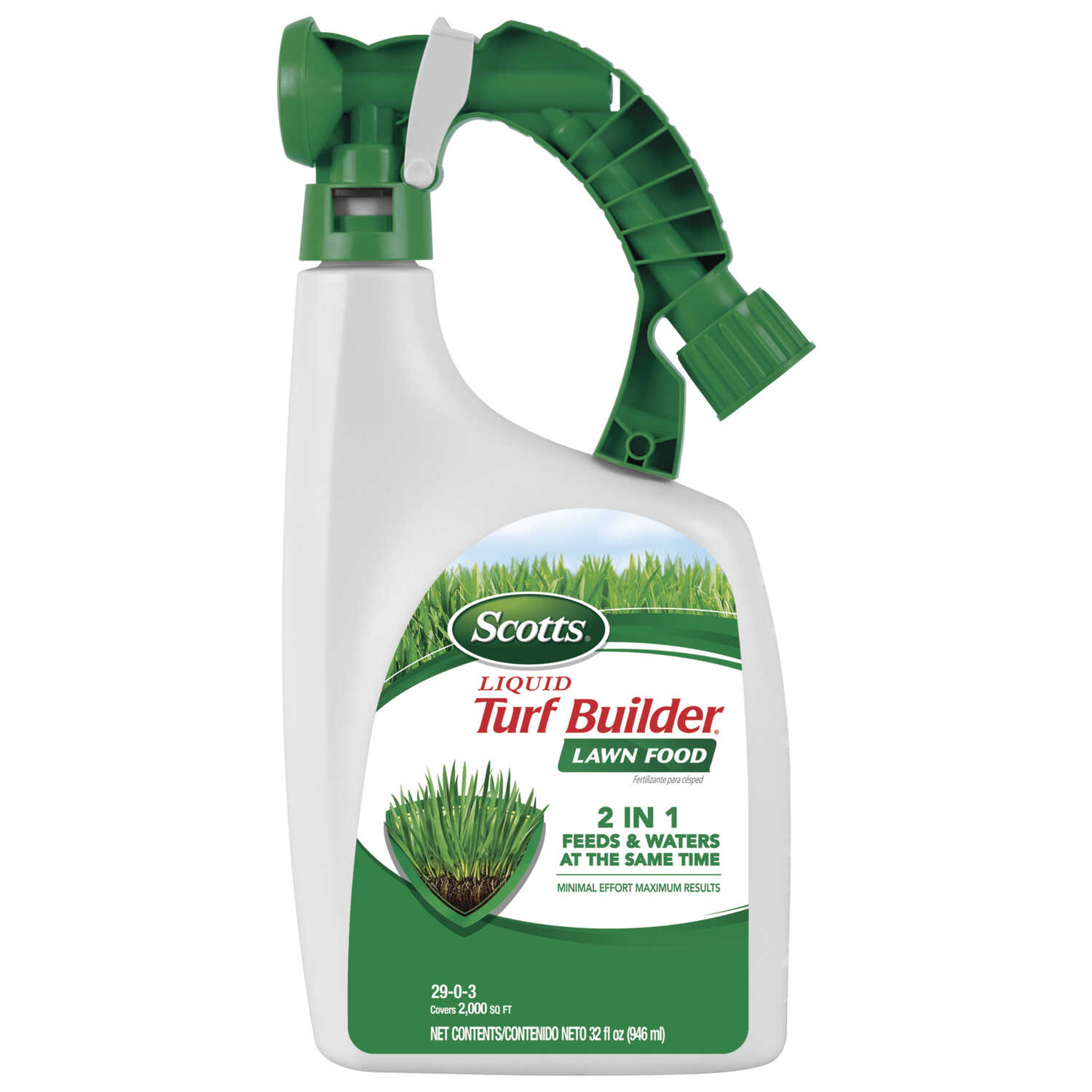 Scotts  Turf Builder  29-0-3  Lawn Food  For All Grass Types 32 oz.