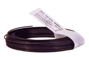 Hillman  3.5 in. Dia. x 50 ft. L Black Annealed  Steel  20 Ga. Stove Pipe Wire