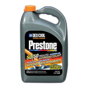 Prestone  Dex-Cool  50/50 Antifreeze/Coolant  1 gal.