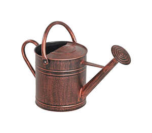 Panacea  Brown  2 gal. Metal  Watering Can