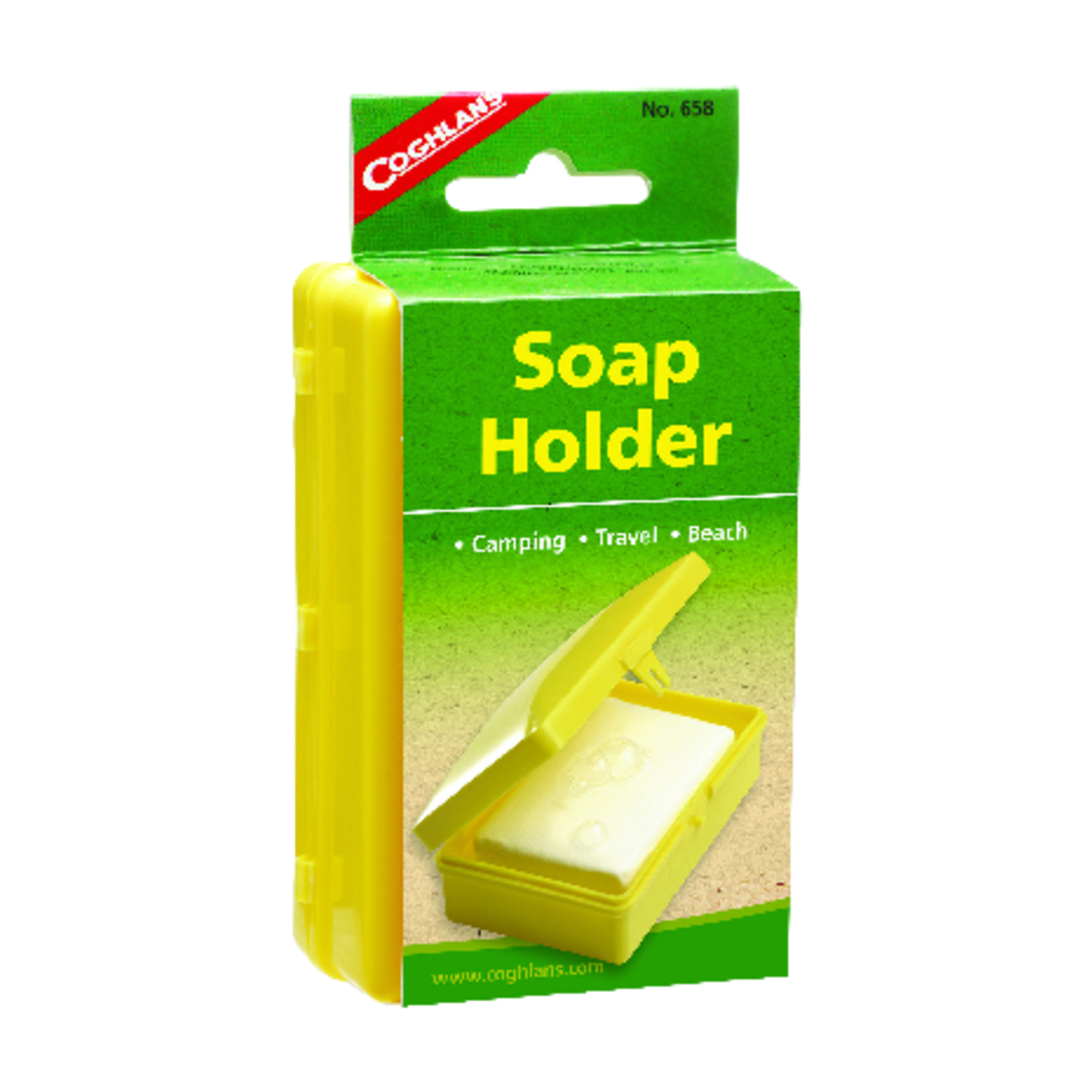 Coghlan's  Soap Holder  4 in. H x 2-7/8 in. W x 1-3/4 in. L 1 pk