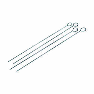 Grill Mark  18 in. L Silver  BBQ Skewers