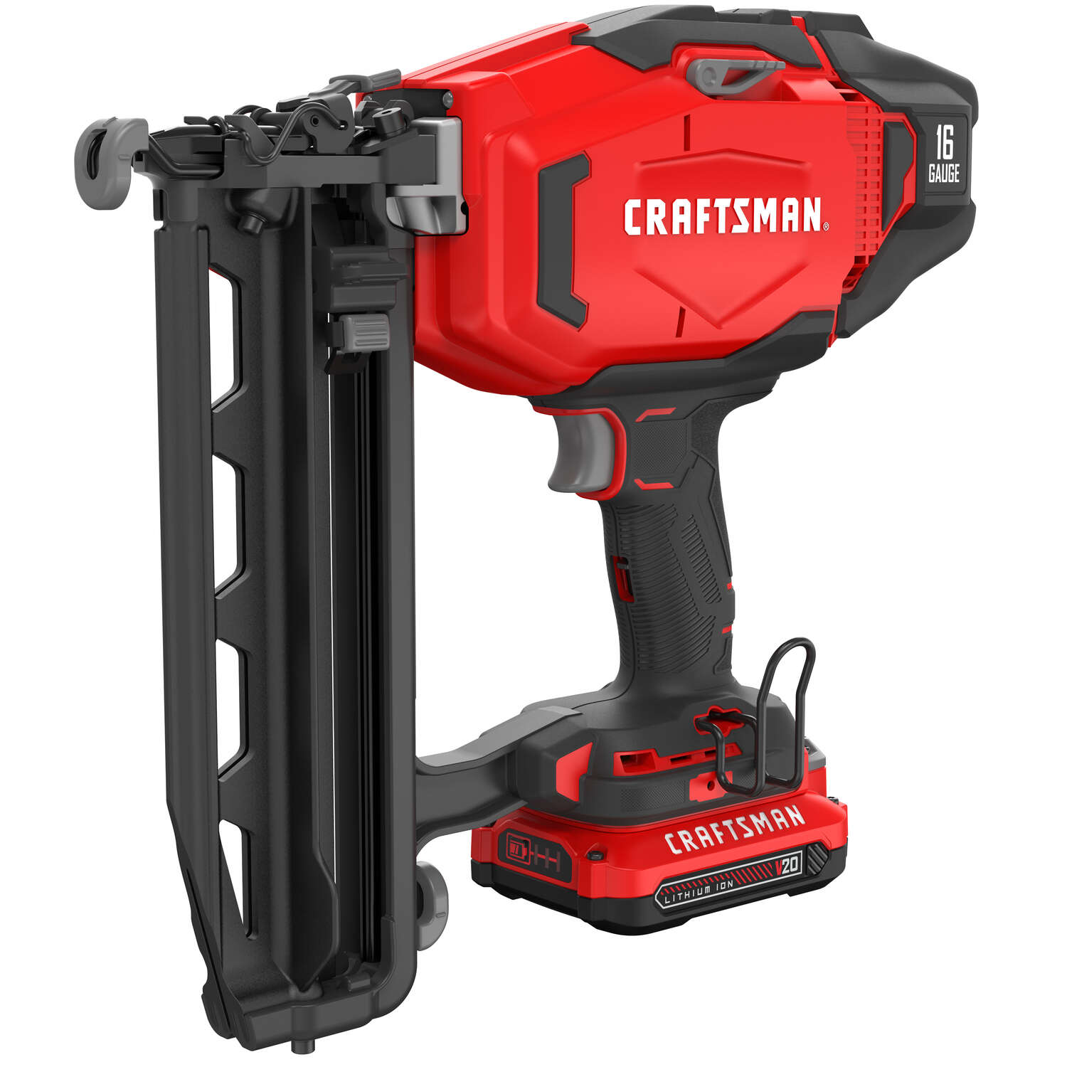 Craftsman  20V MAX  Cordless  16 Ga. Finish Nailer  Kit