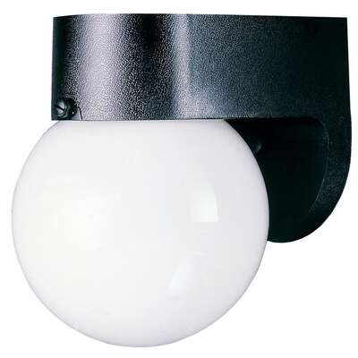 Westinghouse Gloss Black Switch Incandescent Light Fixture