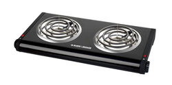 Black and Decker  2 burners Buffet Range Burner