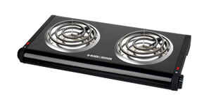 Black and Decker  2  Buffet Range Burner