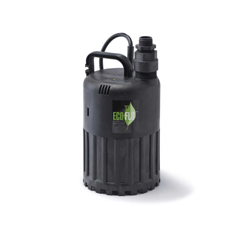 Ecoflo  Thermoplastic  Submersible Pump  1/2 hp 3180 gph 115 volt