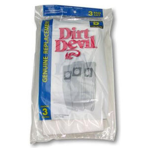 Dirt Devil  Vacuum Bag  For Featherlite. Lite. Lite Plus. Sensation 3 pk