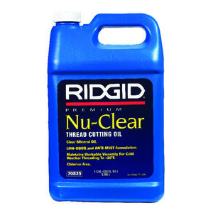 Ridgid  128 oz. For Aluminum and Other Metals Thread Cutting Oil