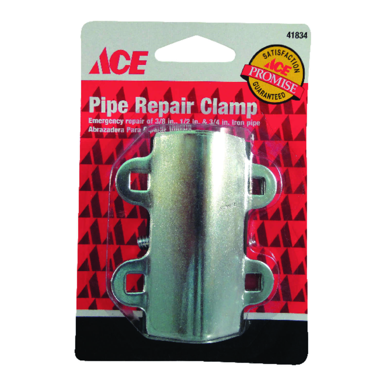 Ace  1/2 in. Dia. Steel  Pipe Clamps