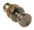 Home Plus  Antique Brass  Passage Lockset  ANSI Grade 3  1-3/4 in.