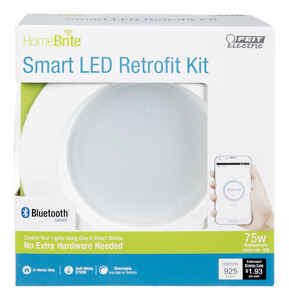 FEIT Electric  HomeBrite Smart  Retrofit Kit  14 watts