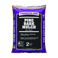 Timberline Natural Pine Bark Mulch 2 cu. ft.