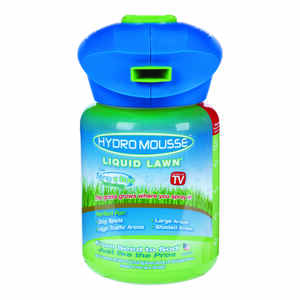 Hydro Mousse Liquid Lawn  As Seen on TV  Fescue Blend  Grass Seed  0.5 oz.