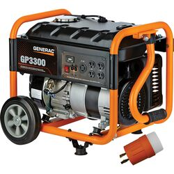 Generac  GP Series  3300 watt 120 volt Gas  Portable  Generator