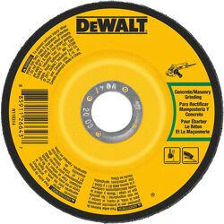 DeWalt 4 in. Dia. x 1/4 in. thick x 5/8 in. Masonry Grinding Wheel 1 pc.