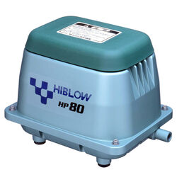 Hiblow  HP 80  .1 hp 1056 gph Aluminum  Switchless  AC and Battery  Septic Air Pump