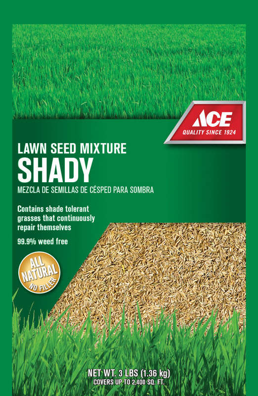 Ace  Mixed  Shade  Lawn Seed Mixture  3 lb.