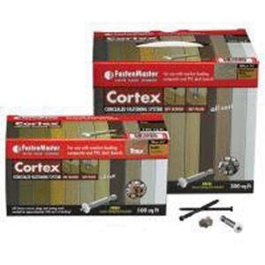 FastenMaster  Cortex Trex  2-3/4 in. L Torx TTAP  Star Head Saddle  Hidden Deck Fastener  224 pc.