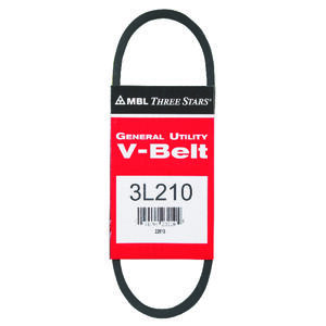Mitsuboshi  General Utility V-Belt  0.38 in. W x 21 in. L