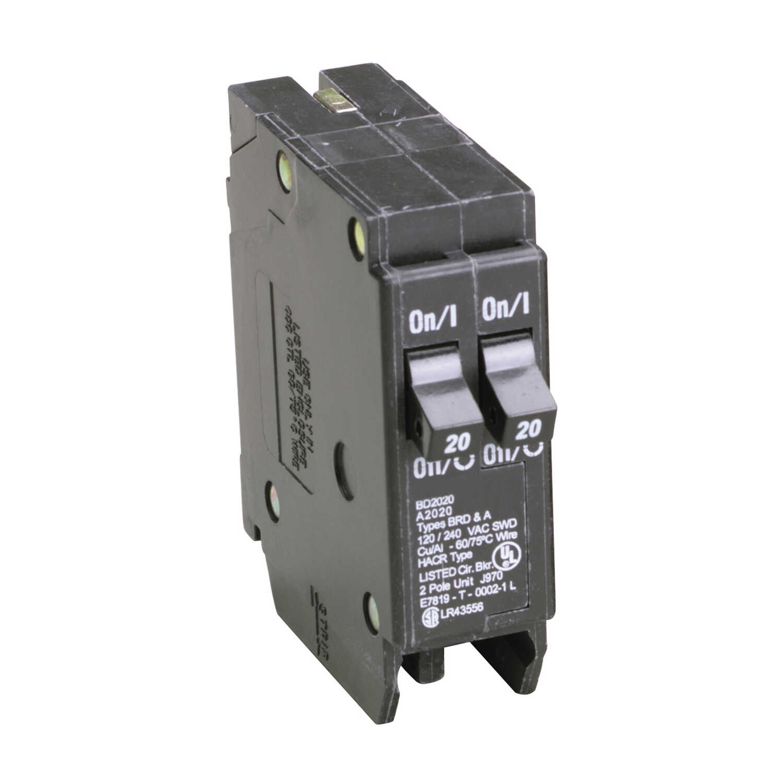 Pole Circuit Breaker Yanyam Cbi Dinrail Mount 40amp New Ebay Eaton Cutler Hammer 20 Amps Tandem 2