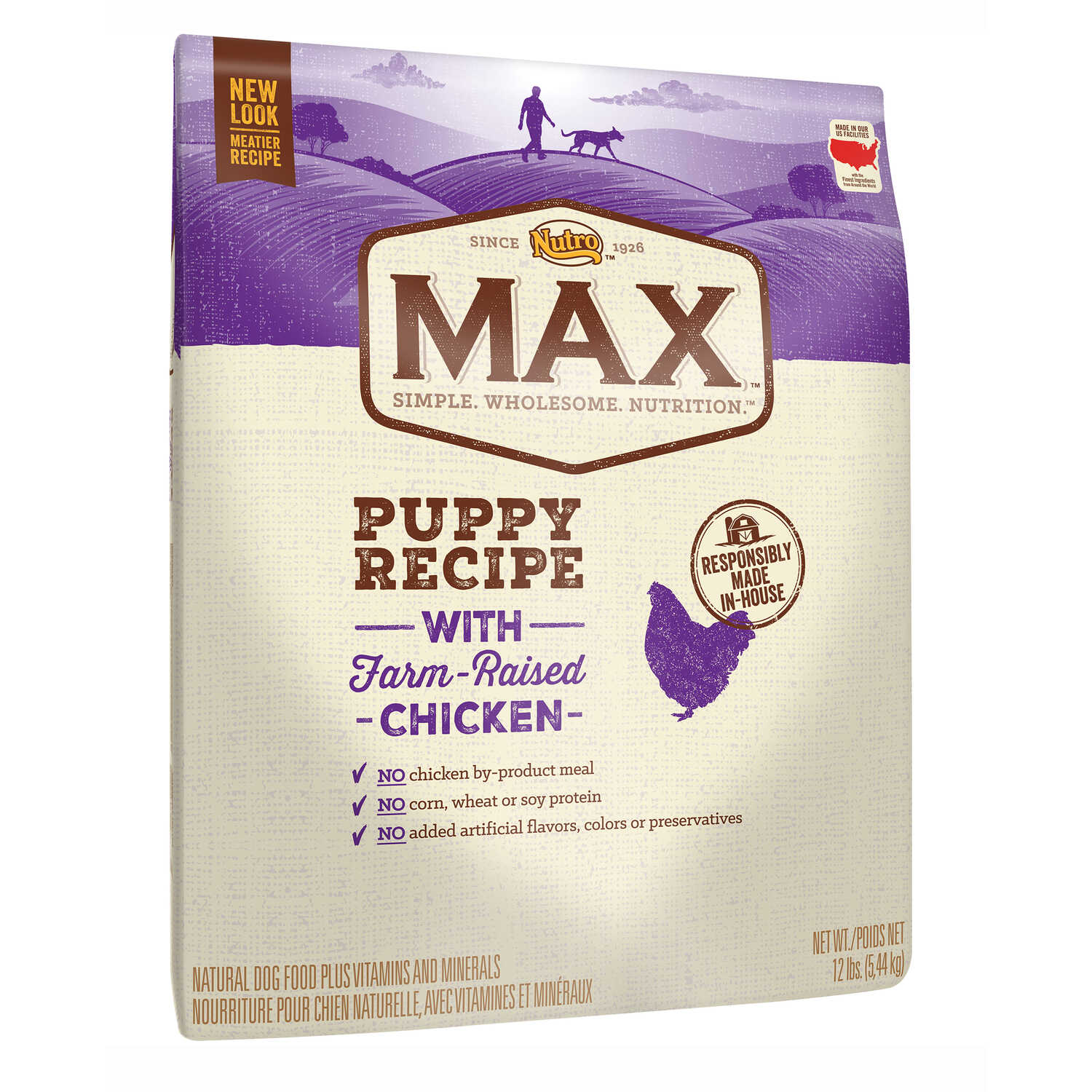 Nutro  Max  Chicken  Dog  Food  12 lb.