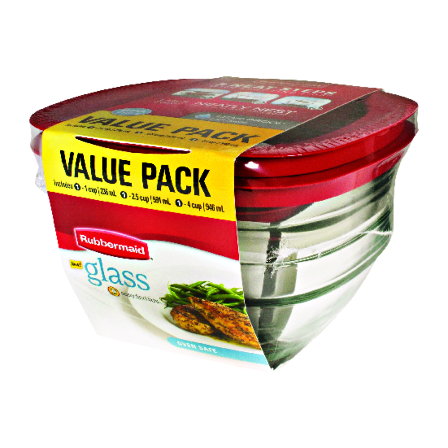 Rubbermaid  Food Storage Container  Assorted
