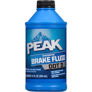 Peak  DOT 3  Brake Fluid  12 oz.