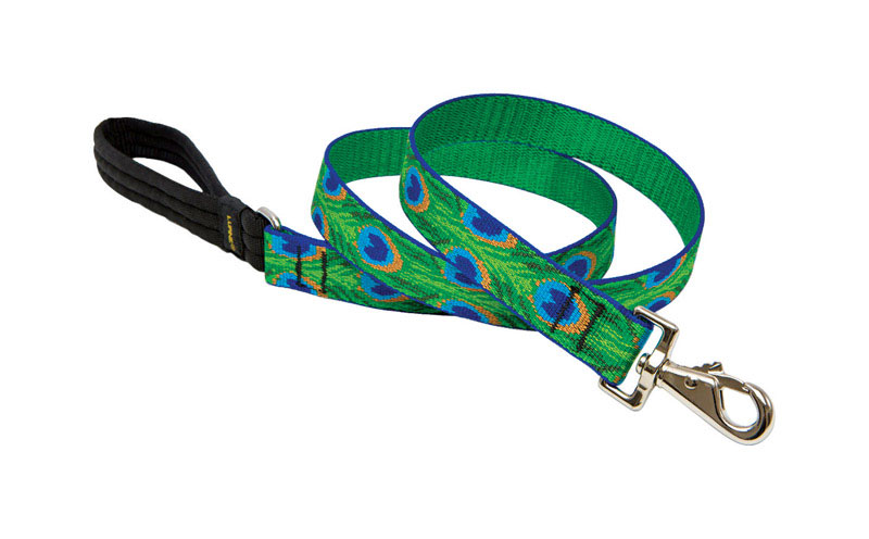 Lupine Pet  Original Designs  Tail Feathers  Nylon  Dog  Leash