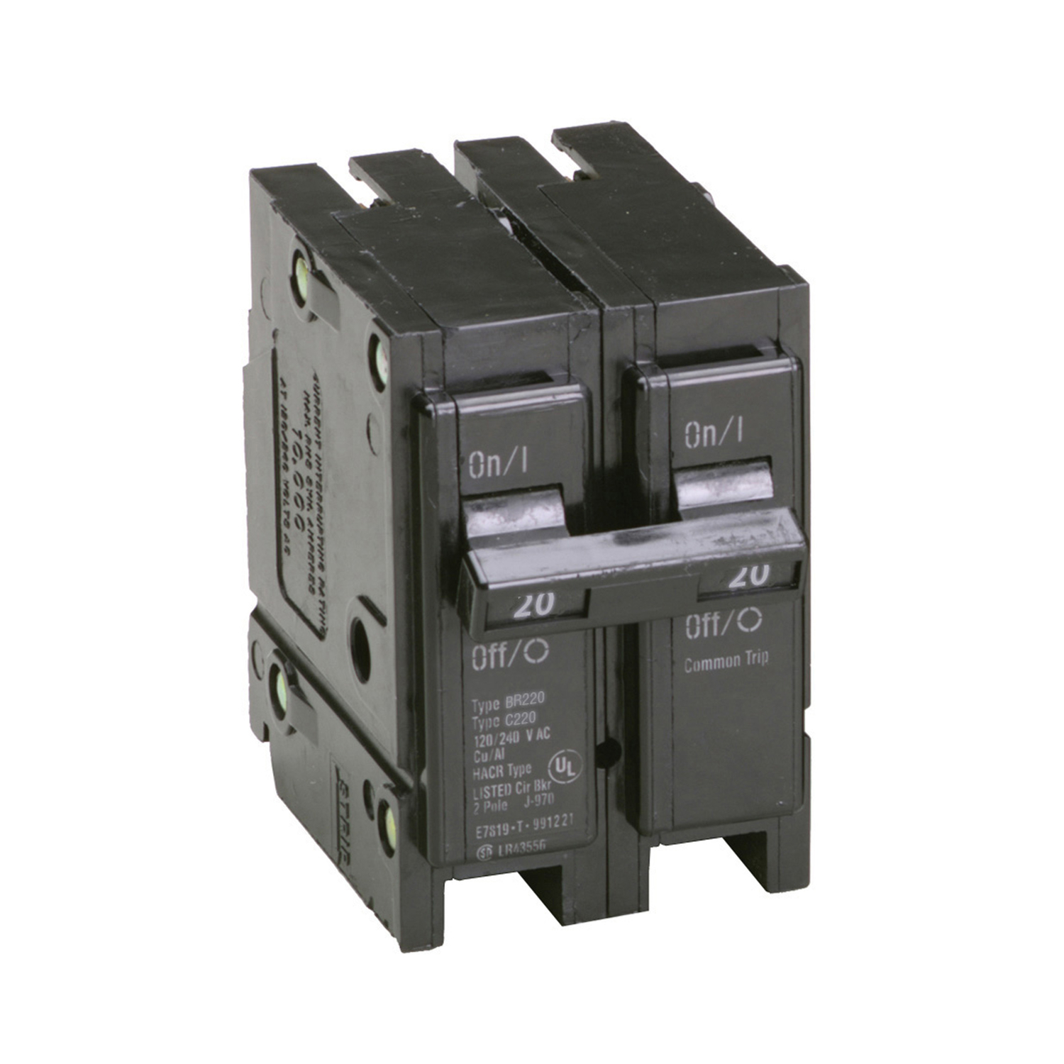 Eaton  Cutler-Hammer  20 amps Plug In  2-Pole  Circuit Breaker